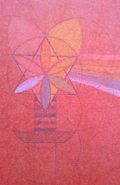 Licht breken... de PIRAMIDE de driehoek van HET GEZIN...